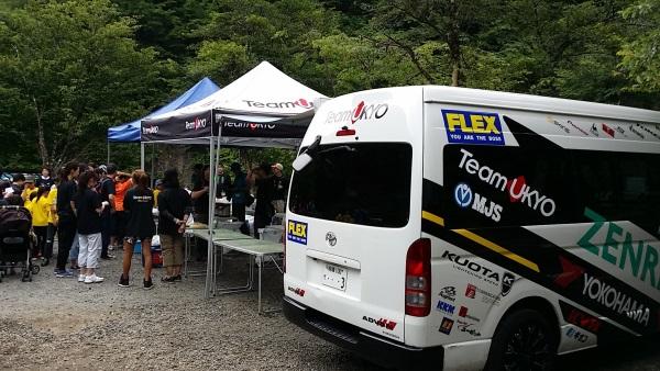 チーム右京の皆さんが、子供を中心に60名くらいで久保キャンプ場にいらっしゃいました。